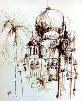 260 Sultan Mosque, Singapore by tilenti