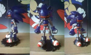 Custom Mecha Sonic -Complete by Diegichigo