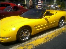 Yellow Vette by SuicideButterfly