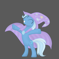 Great and Powerful Trixie by Zonra
