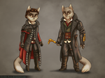 Lackadaisy Creed?...Assassin Kittens?... by Goshiki-Ryuu