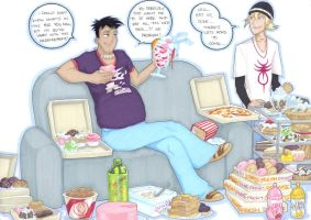 6teen doughnuts later... by prisonsuit-rabbitman