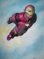 IRON MAN by BUMCHEEKS2