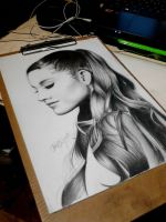 ARIANA GRANDE by Zephirious