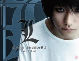L changes the world wallpaper by kechap