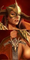 The Mistress - Closeups by Deligaris