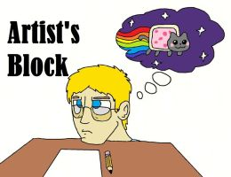 Artist's Block in a Nutshell by LBFable