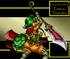 Tortica Testudine Pinup by GysKing1