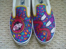 yeah yeah yeahs shoes by mburk