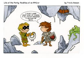 MAgic Charms RPG Comic by travisJhanson