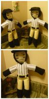 Batter Plushie for Mortis Ghost by Vampire-Sacrifice