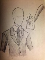 Slender Man by LabRatt123