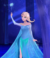 Elsa: Let It Go by Graya7