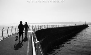 Lighthouse Walk by Val-Faustino