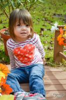 Flowers and a Child by PhotographicCrypto