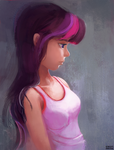 Twilight Sparkle - Sketch by aJVL