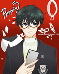 Persona 5: New Protagonist by Hourglass34
