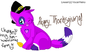 Happy Thanksgiving~! by HopeTehGlacon