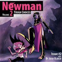Newman Issue Two Cover by Josh-Ulrich