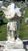 Mount Olivet Cemetery Angel 164 by Falln-Stock