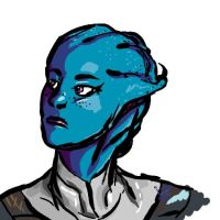Liara T'Sexy by IamParaDROID