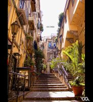 Napoli: Via Chiaia -colours- by chem-graph