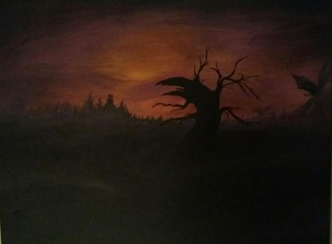 Sunset in Sleepy Hollow by Redhead-Mandy