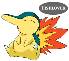 Cyndaquil Pixel by Fishlover