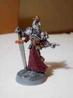 Chaos Warrior with Bone Armour by DoctorVorlon