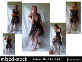 Autumn Devil Fae Pack 1 by mizzd-stock