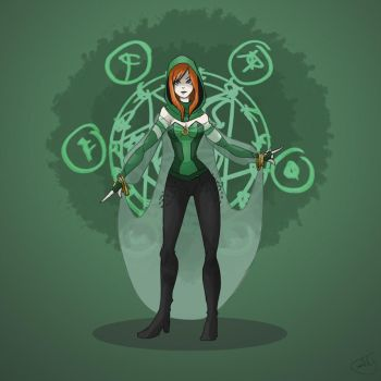 Enchantress June Moone Redesign by cooldeadpool15