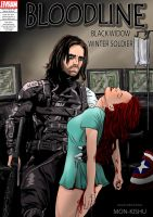 Black Widow/Winter Soldier-Marvel-Captain America by Mon-Kishu