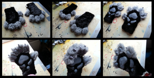 Olgrendel Handpaws by CuriousCreatures