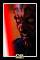 Darth Maul Postal by JaXParabellum