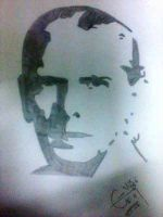 Pencil Sketch of Quaid-e-Azam by hdraleee