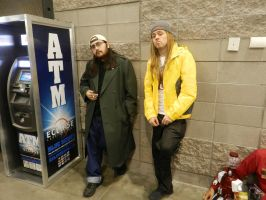 Phoenix Comicon 2014 Jay and Silent Bob by Demon-Lord-Cosplay