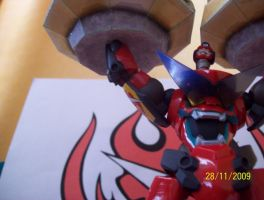Home made gurren lagann by sleepinartist