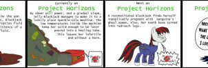 Fallout Equestria: Project Horizons in a nutshell by JustMoth