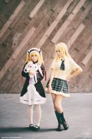 Haganai - Sena and Kobato by vaxzone