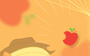 Applejack Wall by flamevulture17
