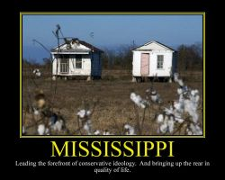 Mississippi Motivational Poster by DaVinci41