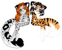Spots and Stripes by bloodofbastet