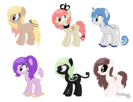Song Inspired Pony Adopts CLOSED (Cheap) 4 by TiffanyBracelet