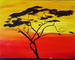 African Plains Tree by AllyRae29