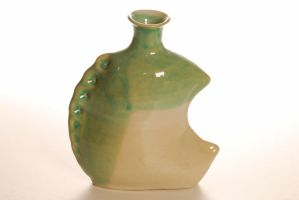 Spined Vase by Recycled-Oxygen