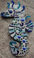 Seahorse Mosaic by JitterDoodles
