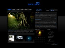Apollo 32 Website by BirdieNUFC