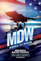 Memorial Day Weekend Flyer by styleWish
