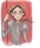 Joan of Arc by DaveJorel