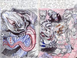 Pages from the Negronomicon 2 by alfrank2000